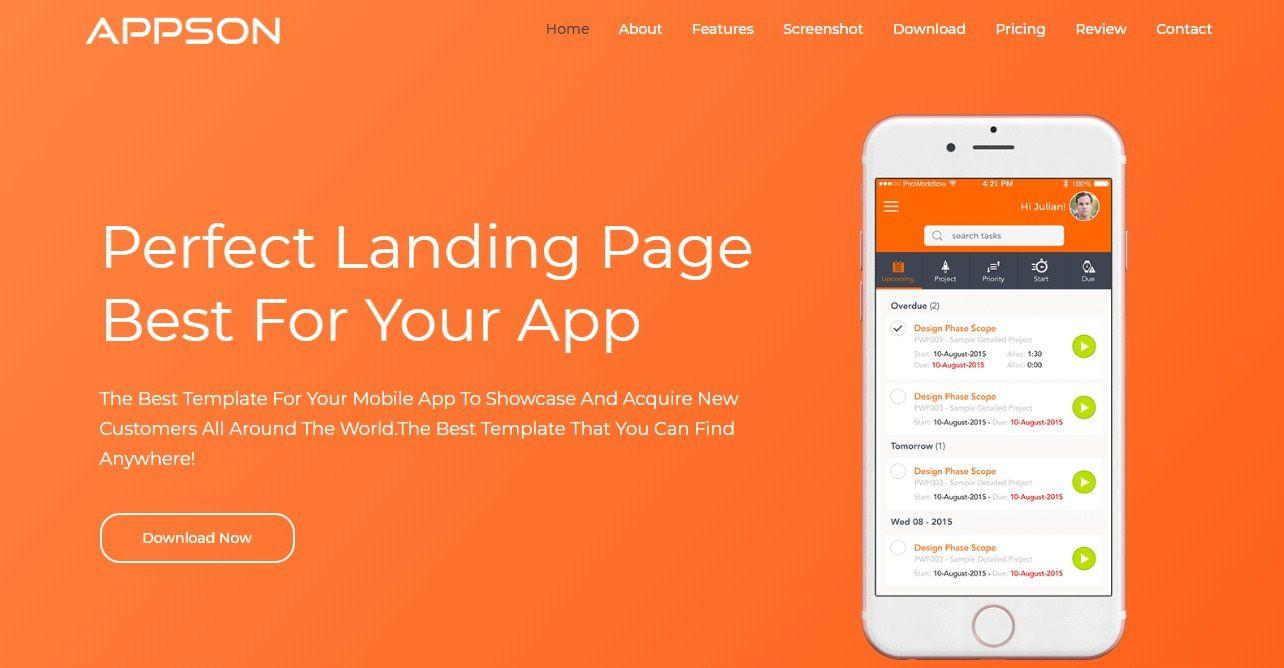 001 Outstanding Bootstrap Mobile App Template Design  Html5 Form 4Full