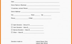001 Outstanding Charitable Tax Receipt Template Example  Donation