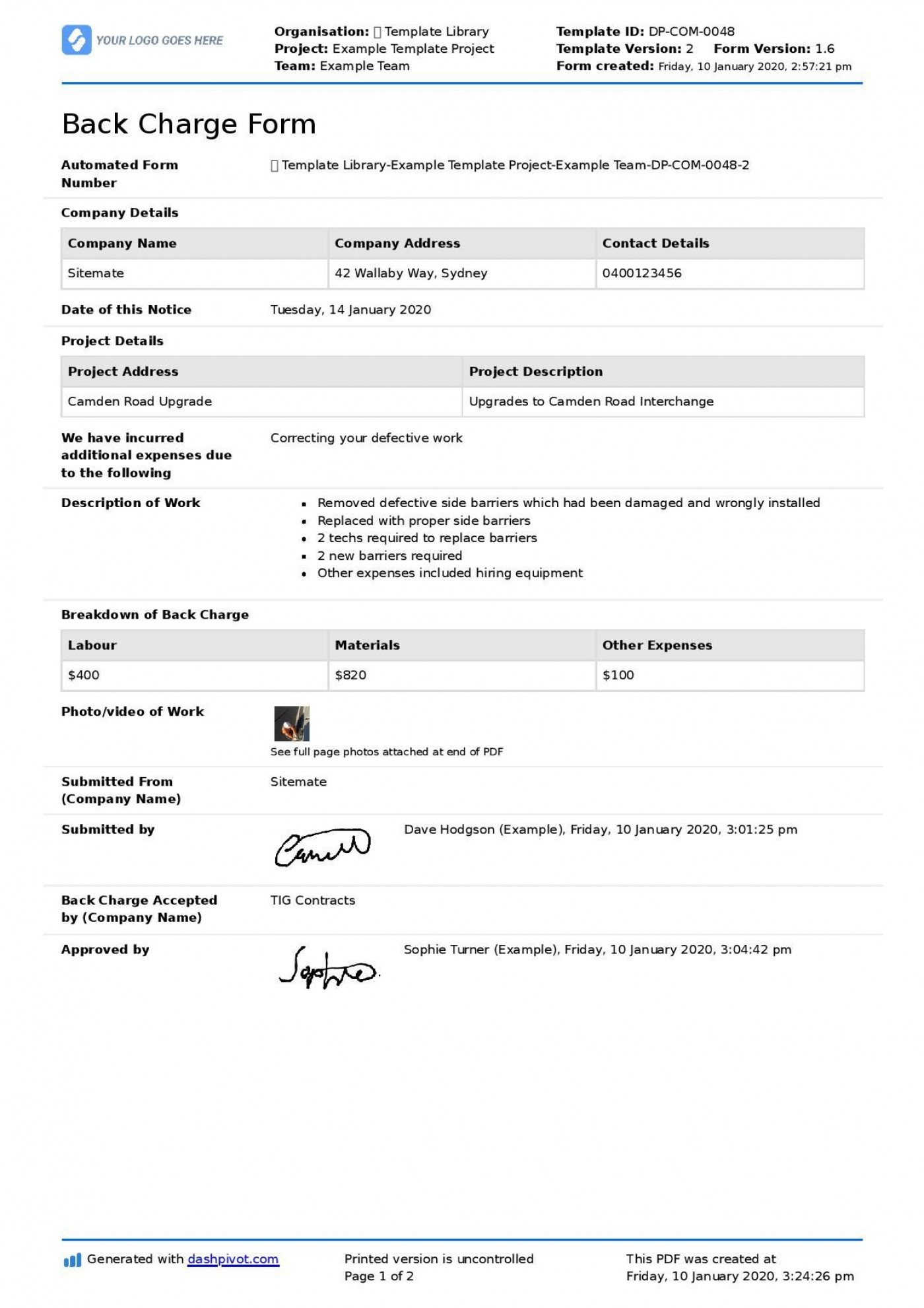 001 Outstanding Construction Busines Form Template Image 1400