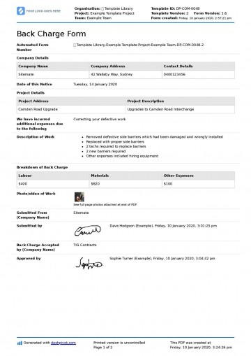 001 Outstanding Construction Busines Form Template Image 360