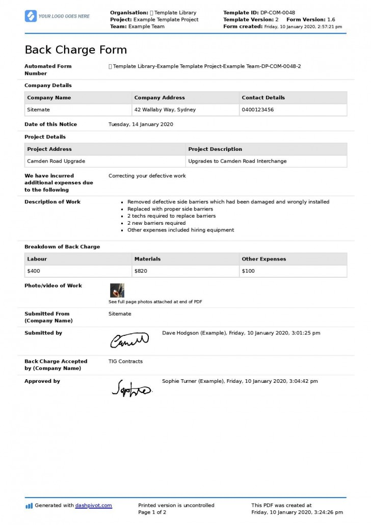001 Outstanding Construction Busines Form Template Image 728