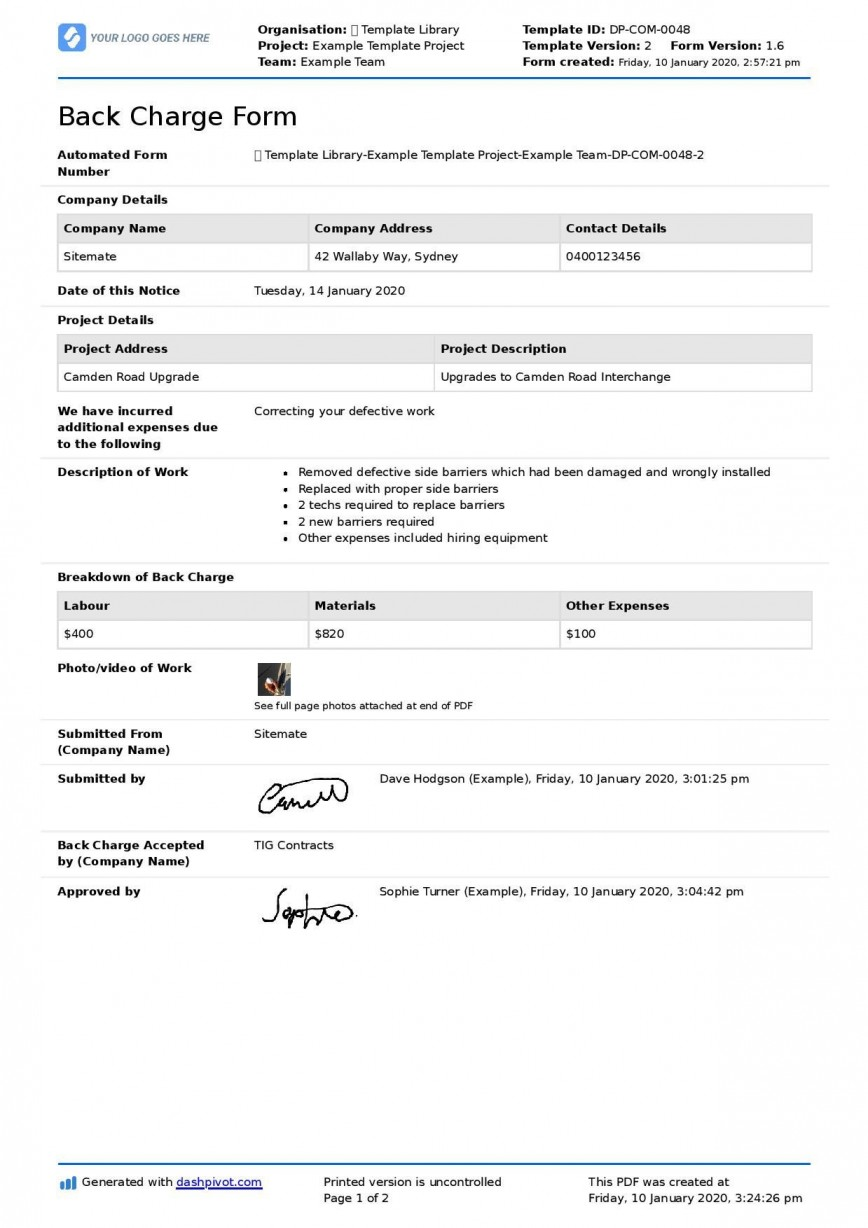 001 Outstanding Construction Busines Form Template Image 868
