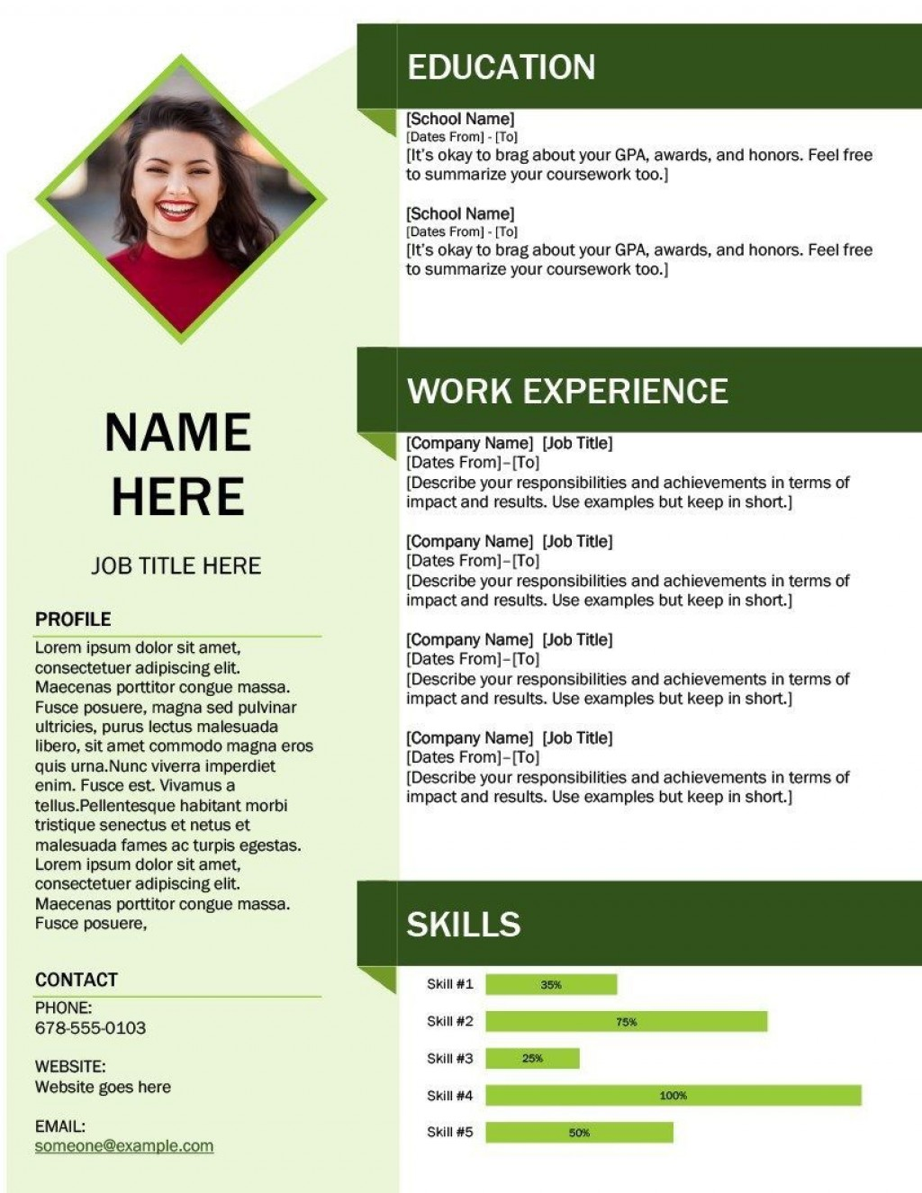 001 Outstanding Download Resume Template Free Idea  For Mac Best Creative Professional Microsoft WordLarge