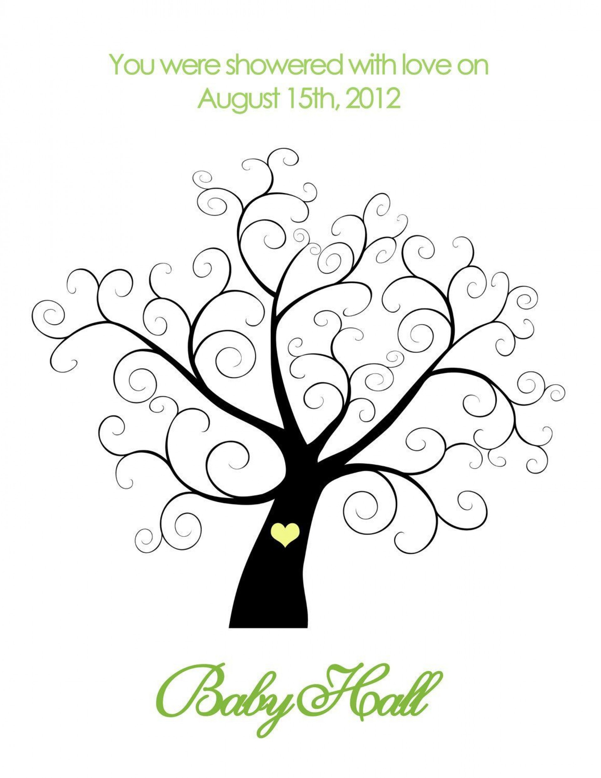 001 Outstanding Family Tree For Baby Book Template Design  Printable1920