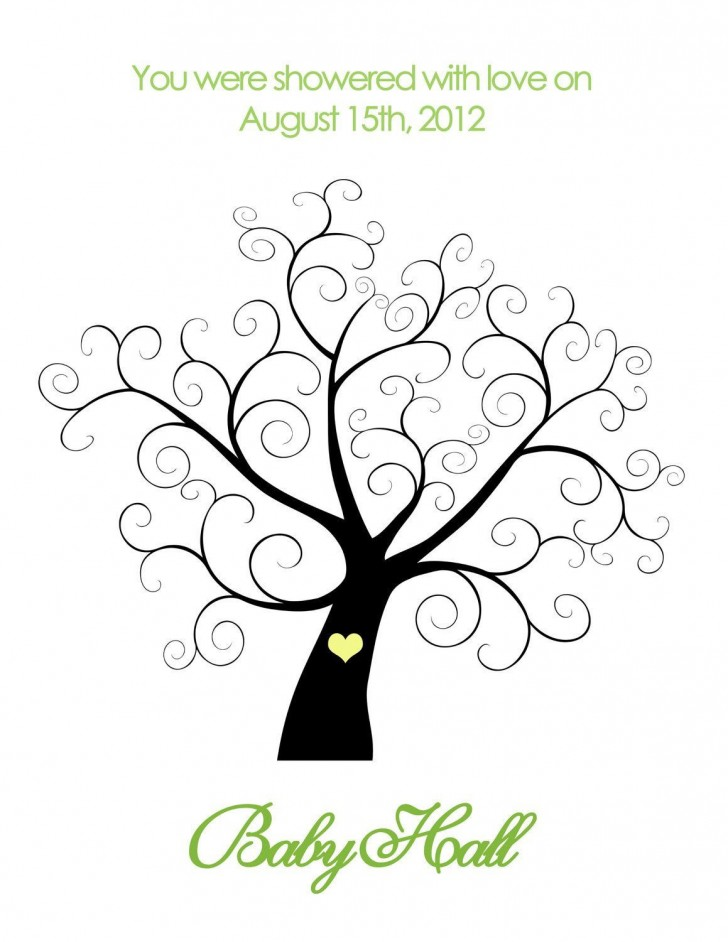 001 Outstanding Family Tree For Baby Book Template Design  Printable728