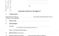 001 Outstanding Free Basic Employment Contract Template South Africa Sample  Temporary