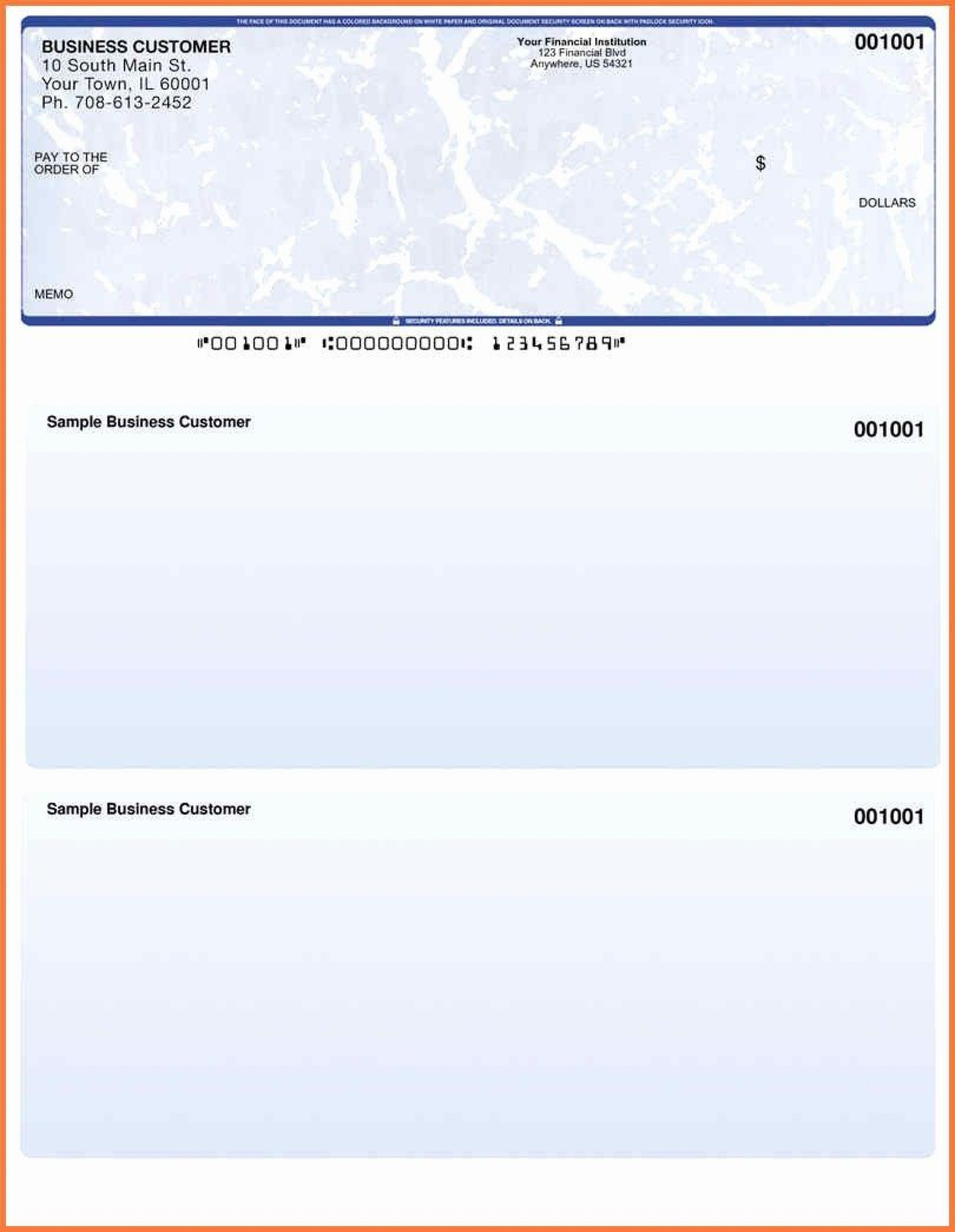 001 Outstanding Free Blank Check Template Pdf Design  Fillable Printable1920