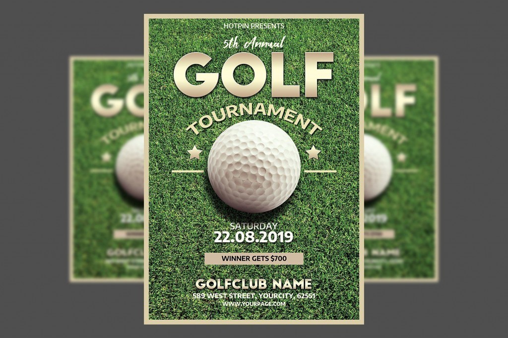 001 Outstanding Free Charity Golf Tournament Flyer Template Inspiration Large