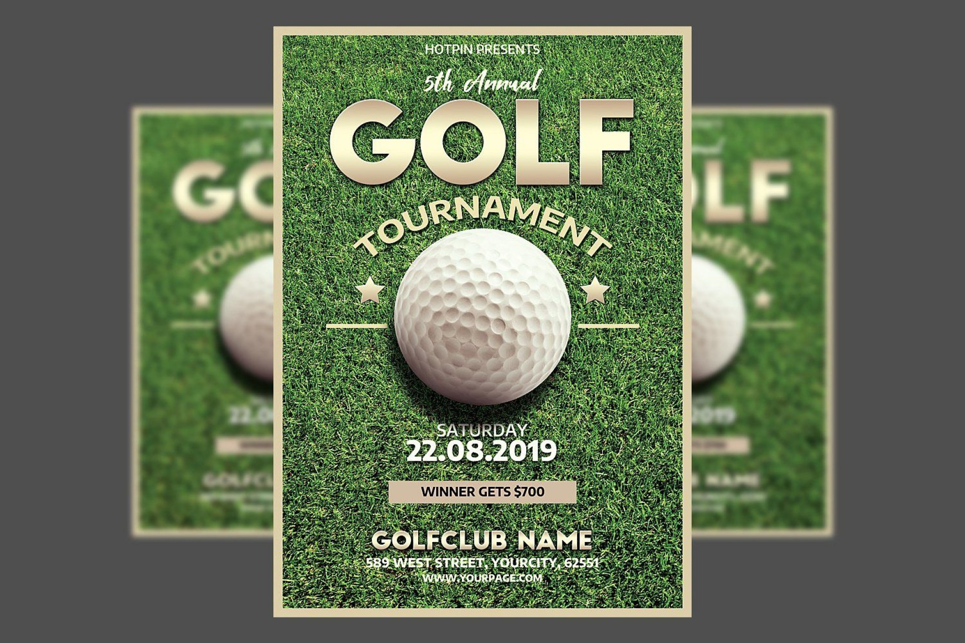 001 Outstanding Free Charity Golf Tournament Flyer Template Inspiration 1920