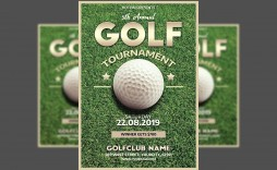 001 Outstanding Free Charity Golf Tournament Flyer Template Inspiration