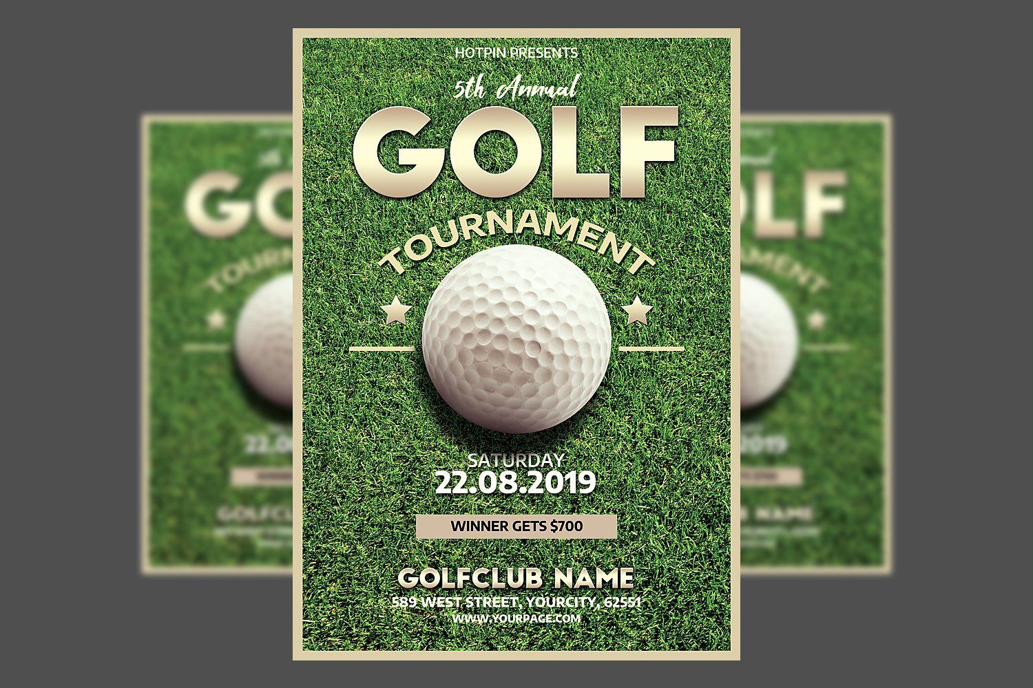 001 Outstanding Free Charity Golf Tournament Flyer Template Inspiration Full