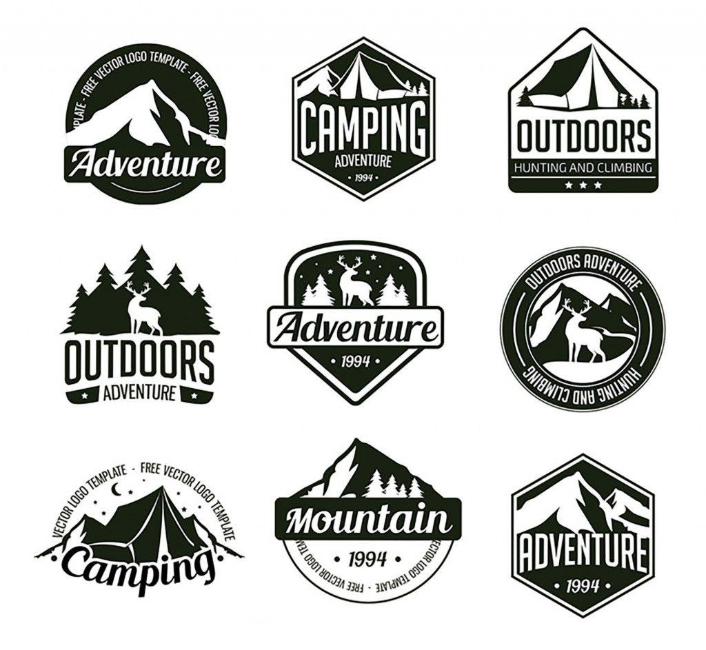001 Outstanding Free Logo Template Psd Inspiration  Photoshop MockupLarge