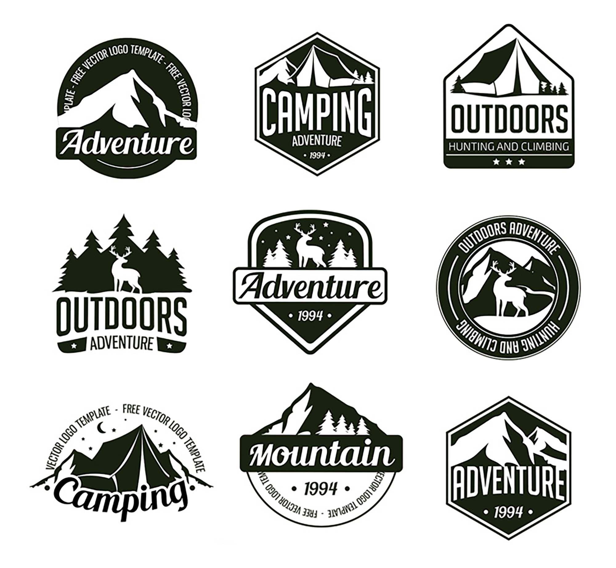 001 Outstanding Free Logo Template Psd Inspiration  Photoshop MockupFull