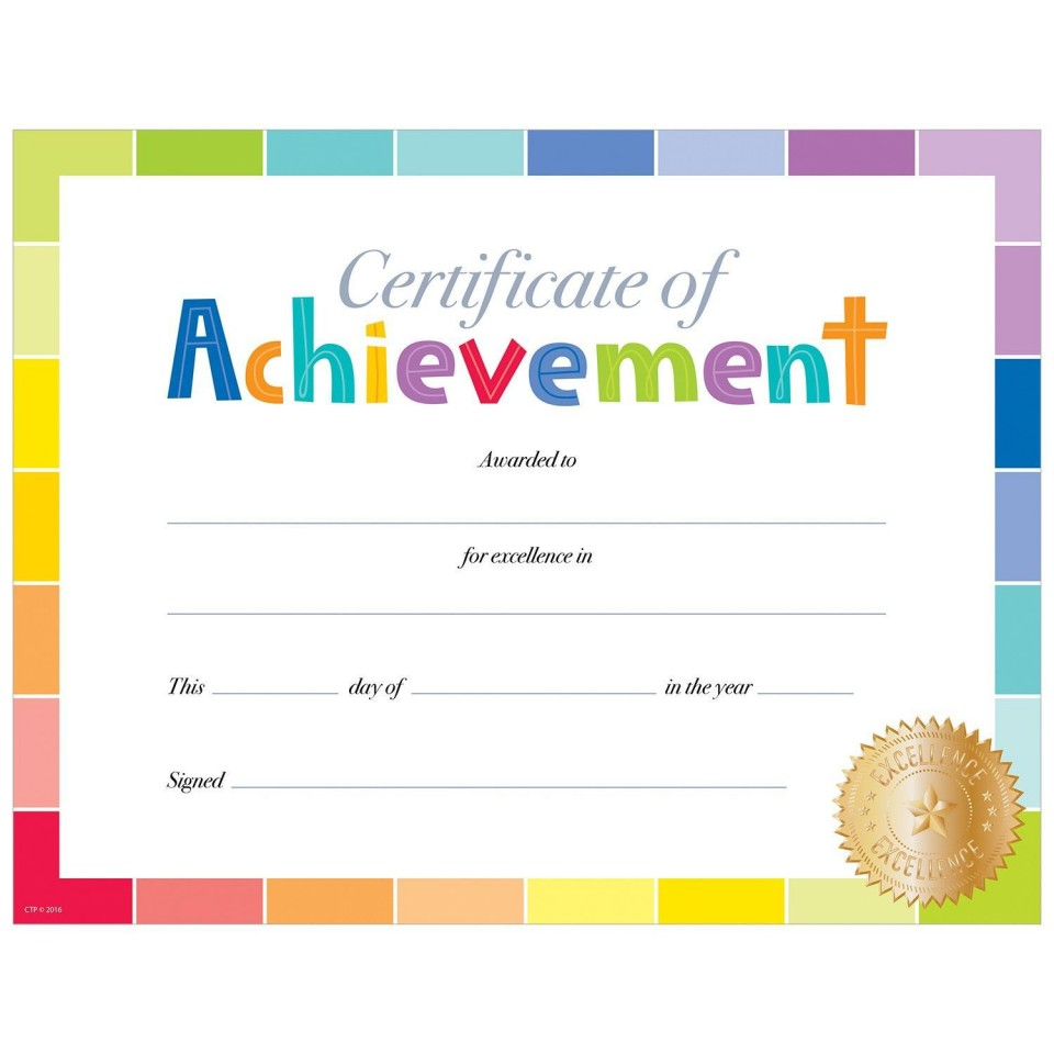 001 Outstanding Free Printable Certificate Template High Resolution  Blank Gift For Word Pdf960