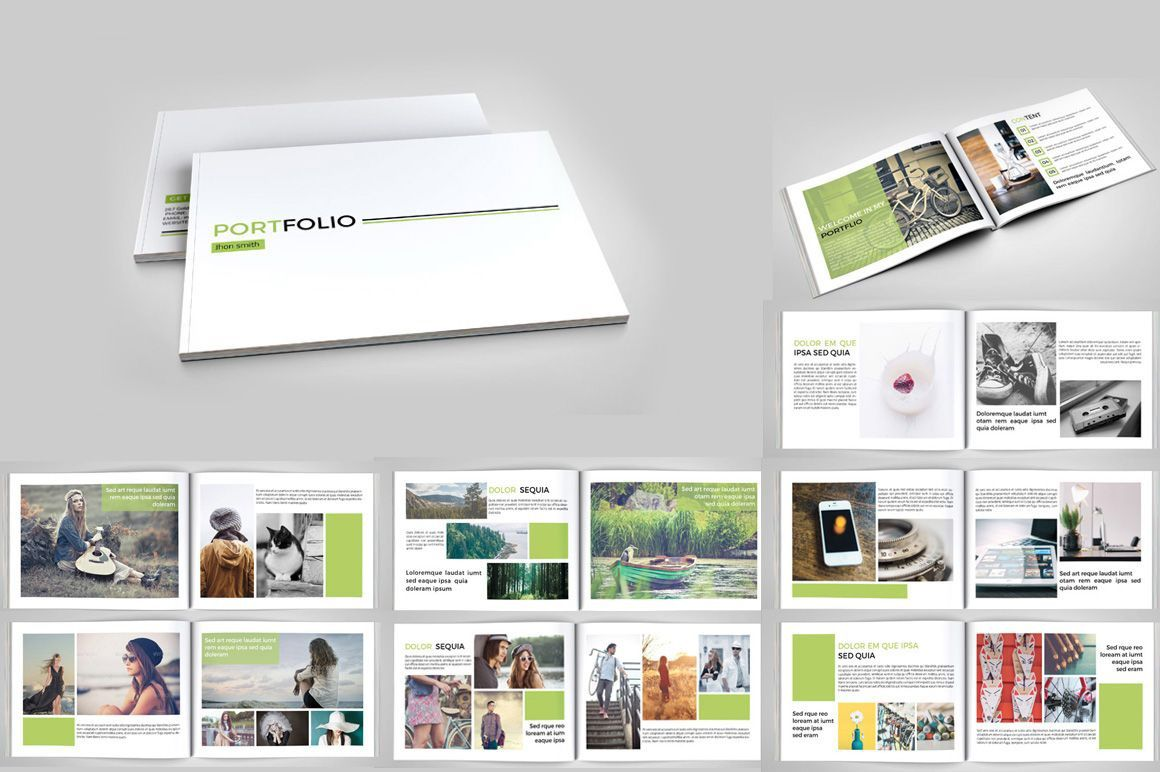 001 Outstanding In Design Portfolio Template Example  Templates Interior Layout Indesign FreeFull