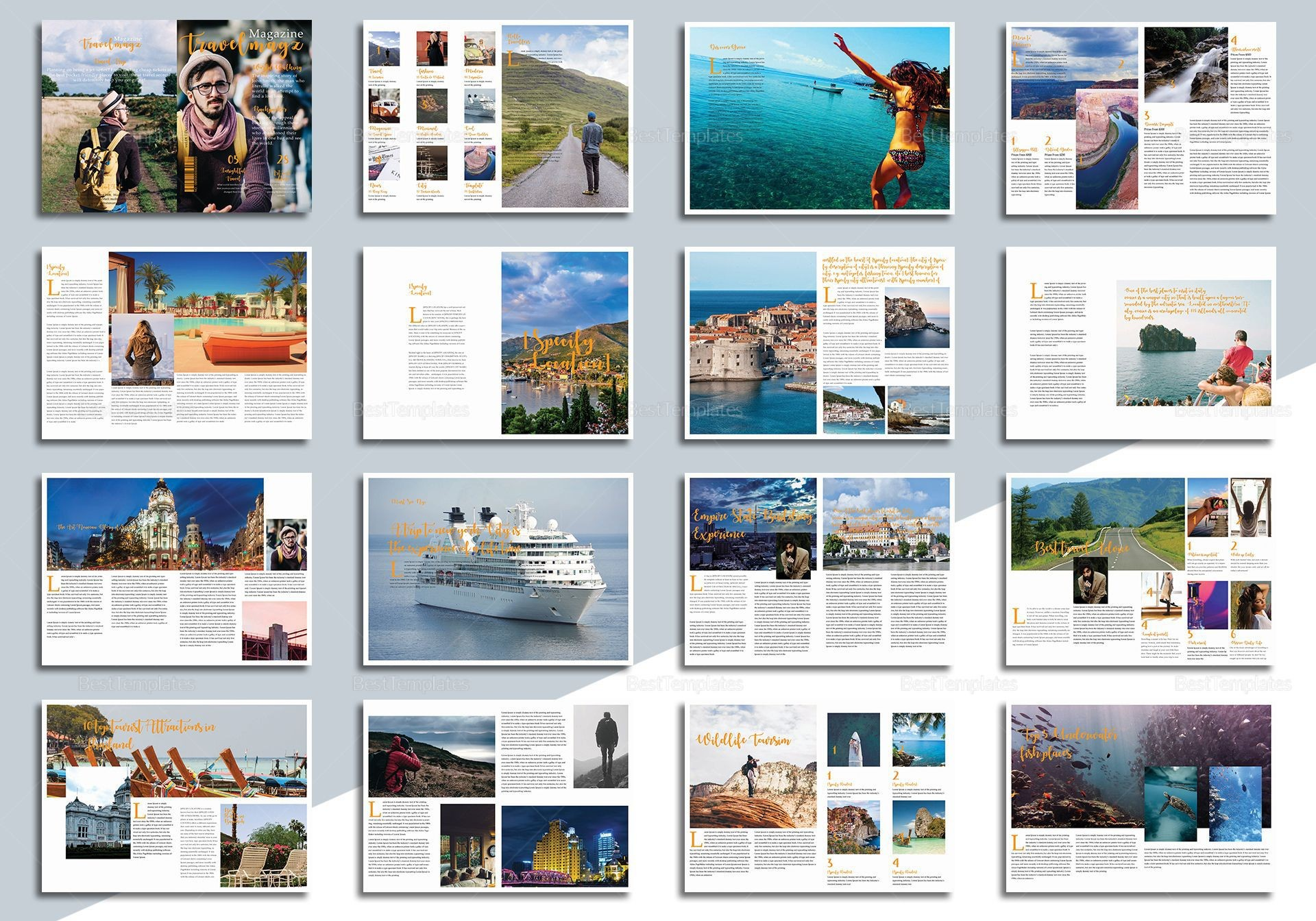 001 Outstanding Magazine Template For Microsoft Word Sample  Layout Design Download1920