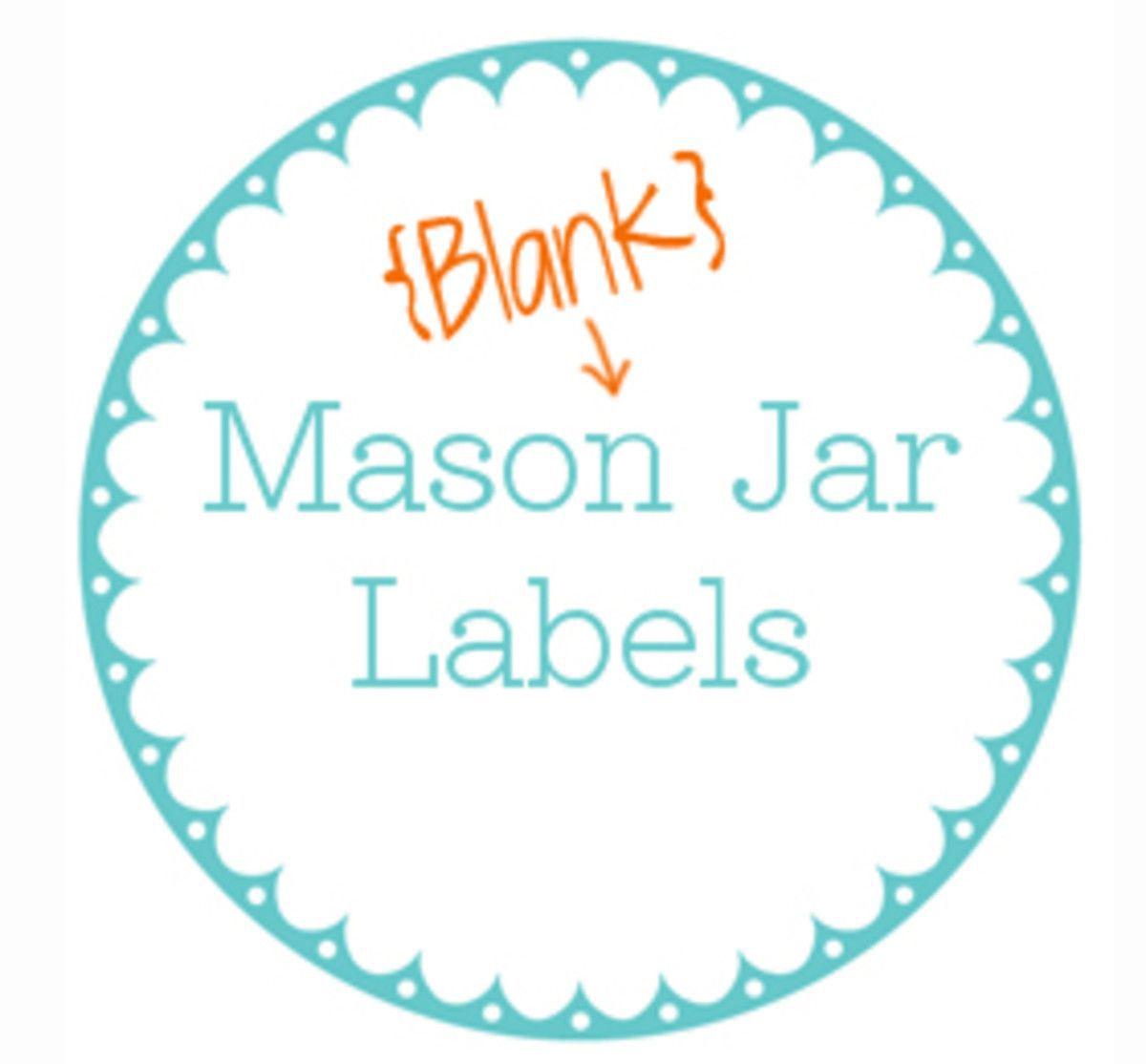 001 Outstanding Mason Jar Label Template Idea  Word AveryFull