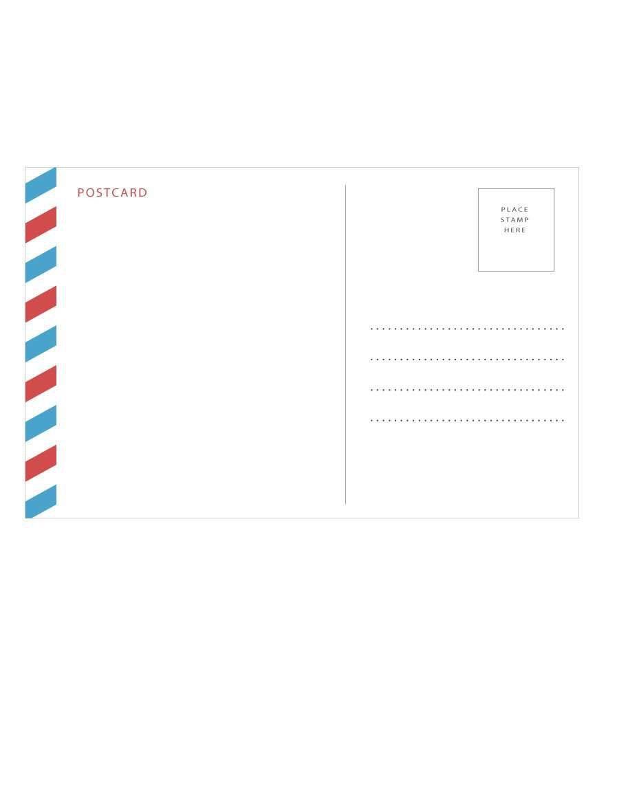 001 Outstanding Postcard Template For Word Mac Sample Full