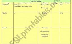 001 Outstanding Printable Lesson Plan Template For Teacher Idea  Teachers
