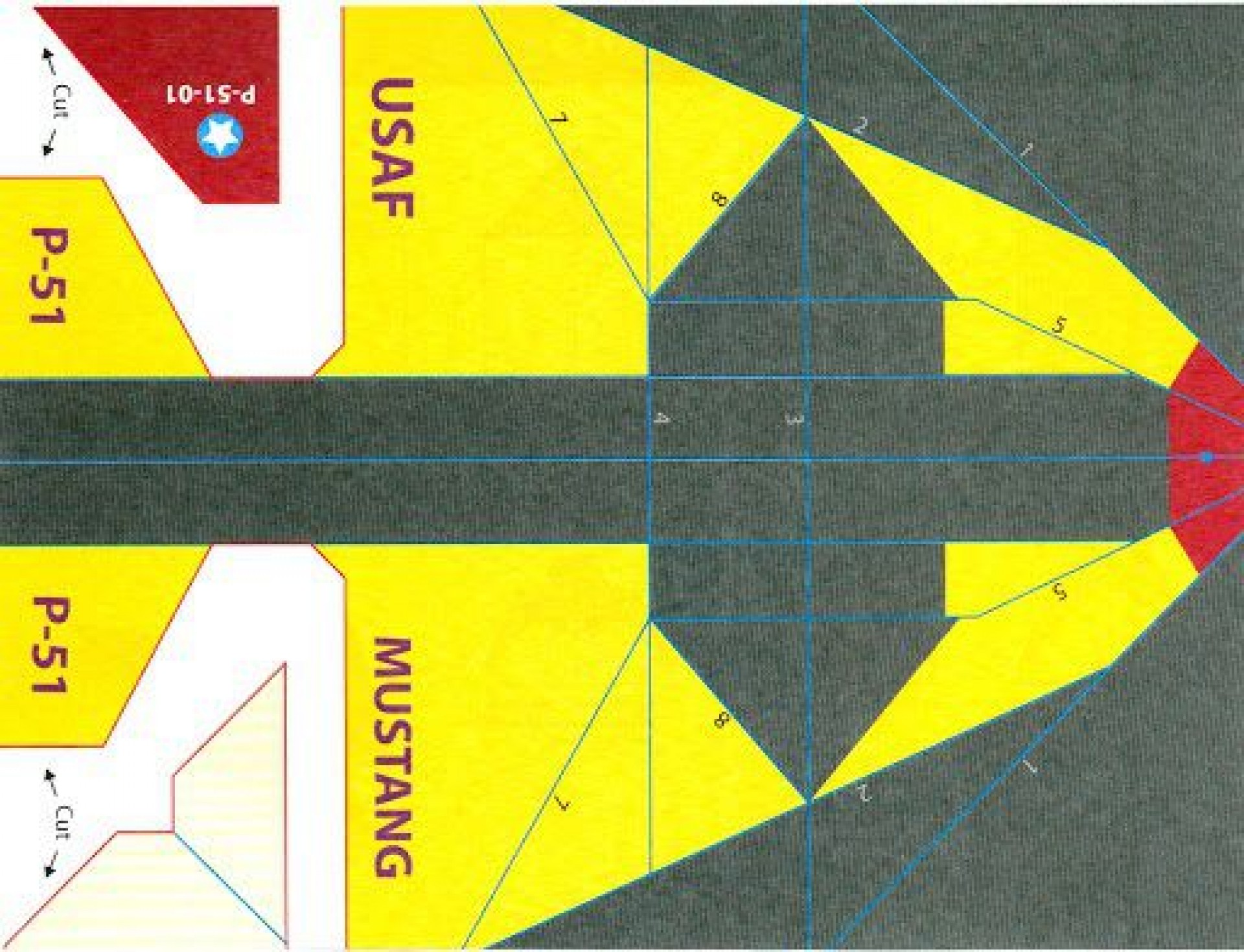 001 Outstanding Printable Paper Plane Template Image  Templates Model Free Airplane Pattern1920