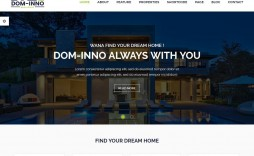 001 Outstanding Real Estate Agent Website Template Example  Templates Agency Responsive Free Download Company Web