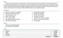 001 Outstanding Request For Proposal Template Excel Example