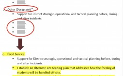 001 Outstanding School Emergency Operation Plan Template Michigan Image