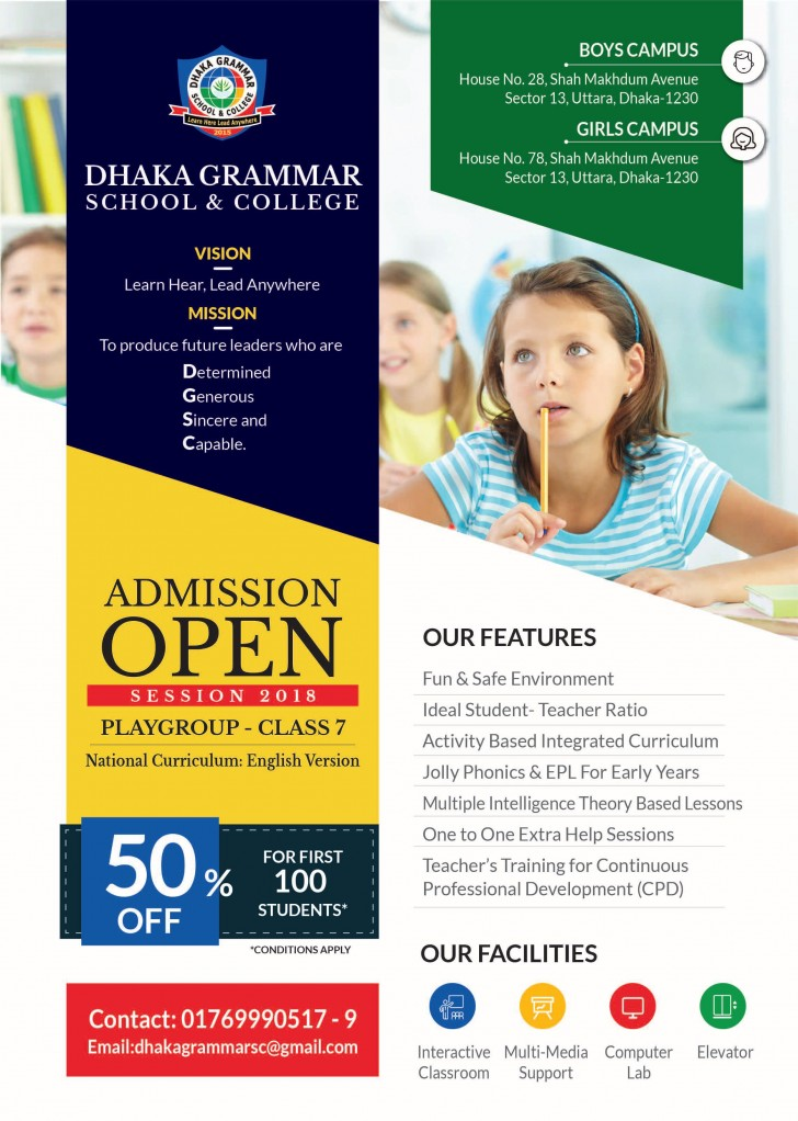 001 Outstanding School Open House Flyer Template Highest Clarity  Elementary Free Word728