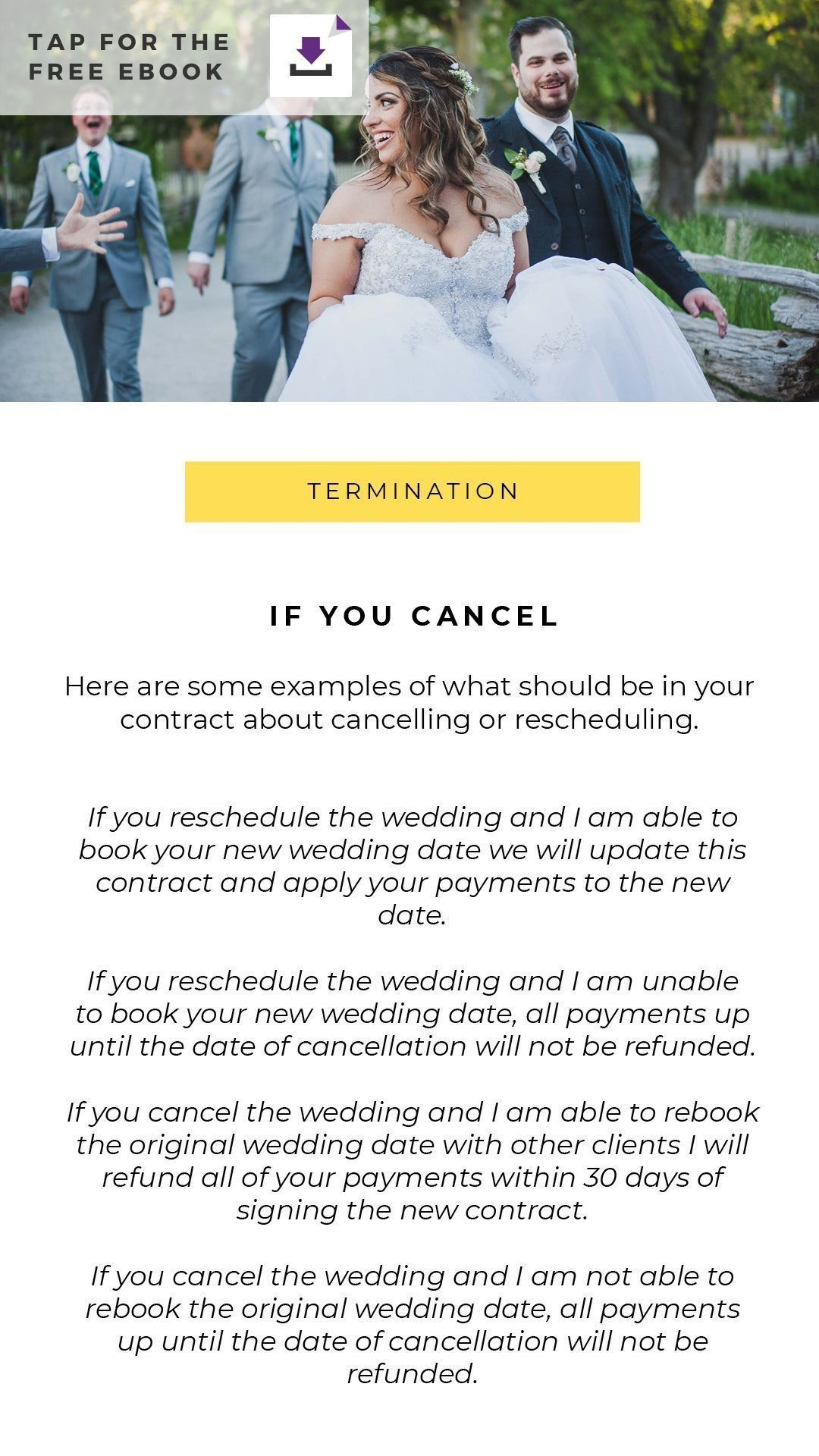 001 Outstanding Wedding Photography Contract Template Canada Idea Full