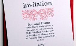 001 Phenomenal 50th Anniversary Invitation Wording Sample Concept  Samples Wedding Card