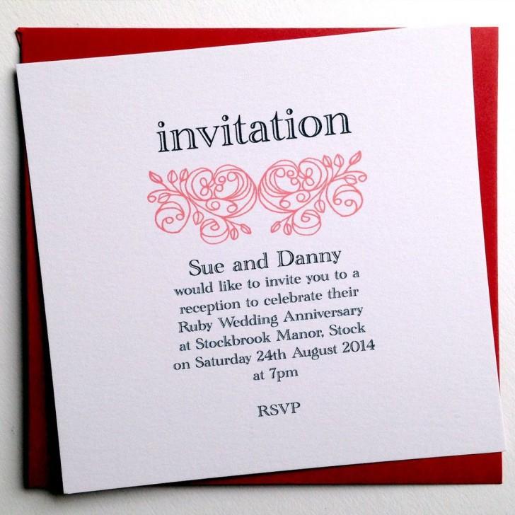 001 Phenomenal 50th Anniversary Invitation Wording Sample Concept  Wedding 60th In Tamil Birthday728