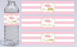 001 Phenomenal Diy Water Bottle Label Template Free Highest Quality