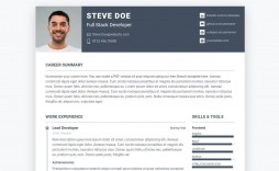 001 Phenomenal Free Html Resume Template Picture  Html5 Best Cv Desmond / Download