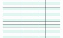 001 Phenomenal Free Printable Blank Monthly Budget Template Idea