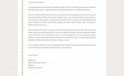 001 Phenomenal Free Reference Letter Template Download Example