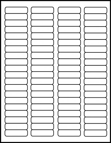 001 Phenomenal Free Return Addres Label Template 60 Per Sheet Sample 360