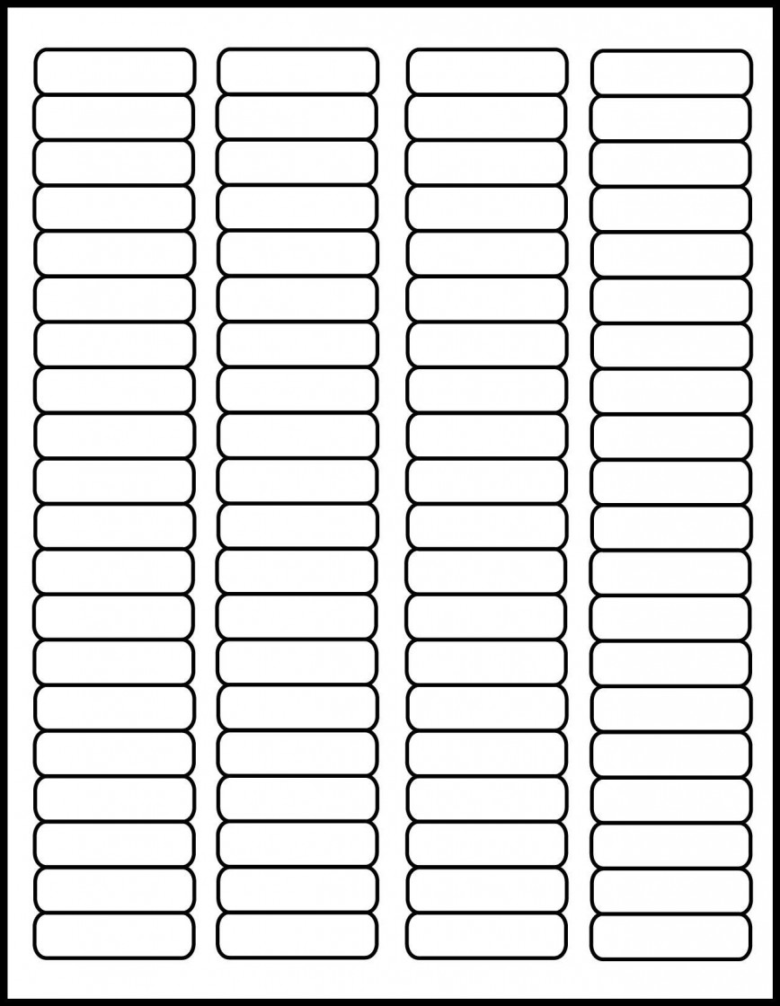001 Phenomenal Free Return Addres Label Template 60 Per Sheet Sample 868
