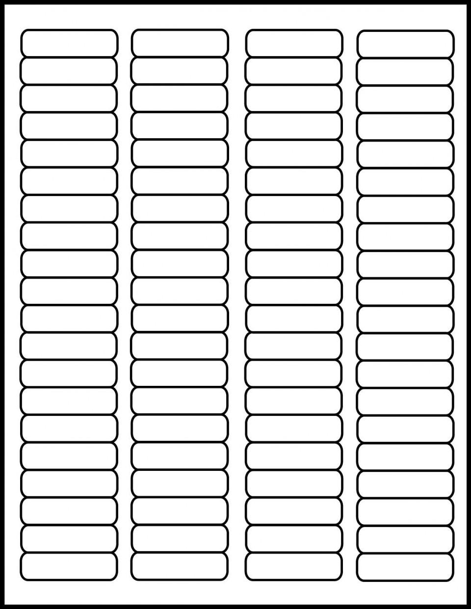 001 Phenomenal Free Return Addres Label Template 60 Per Sheet Sample 960