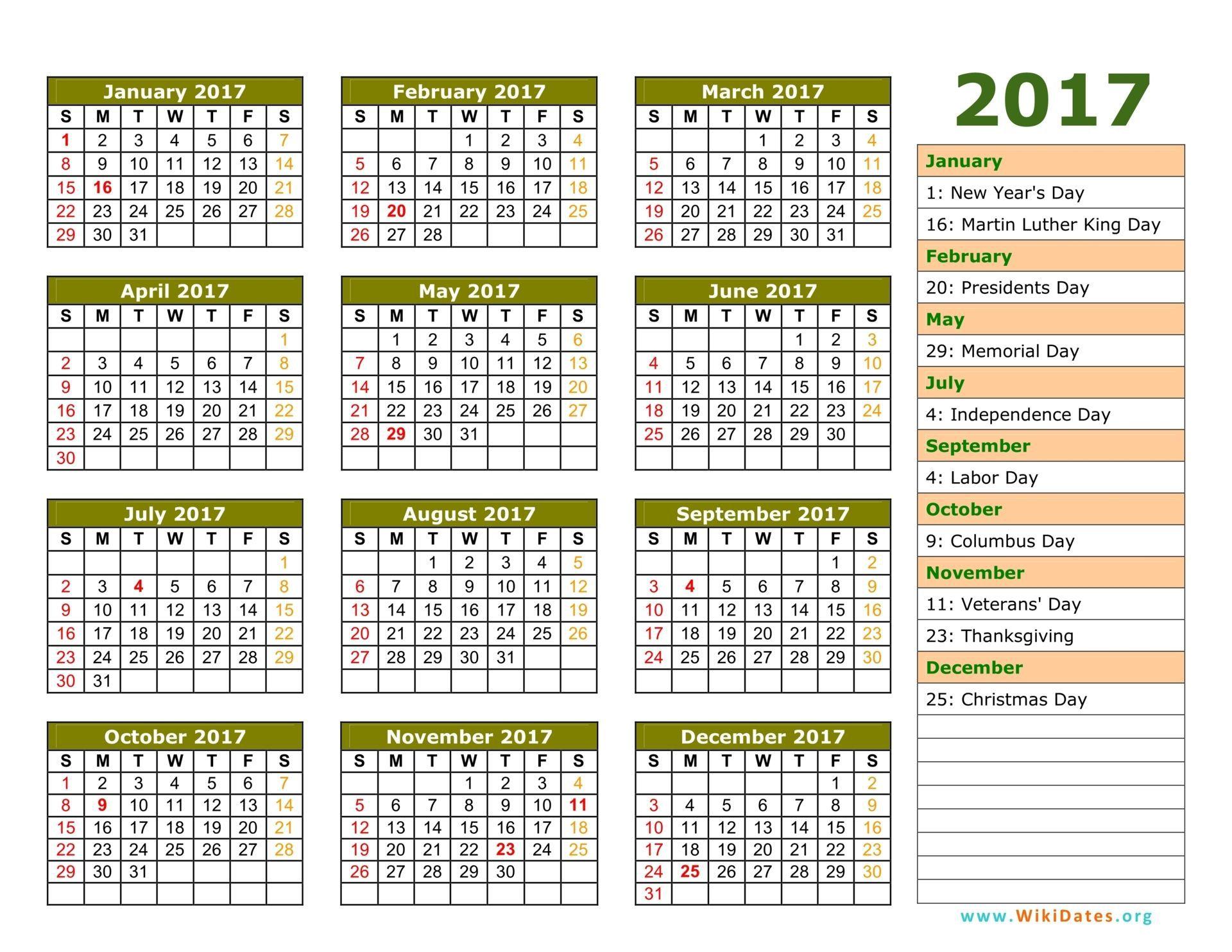 001 Phenomenal Google Calendar Template 2017 Concept Full
