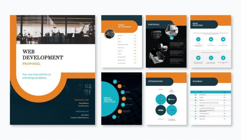 001 Phenomenal Graphic Design Proposal Template Free Image  Freelance Pdf IndesignLarge