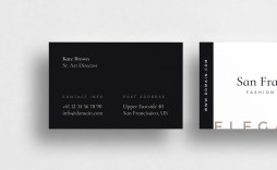 001 Phenomenal Indesign Busines Card Template Free Idea  Adobe