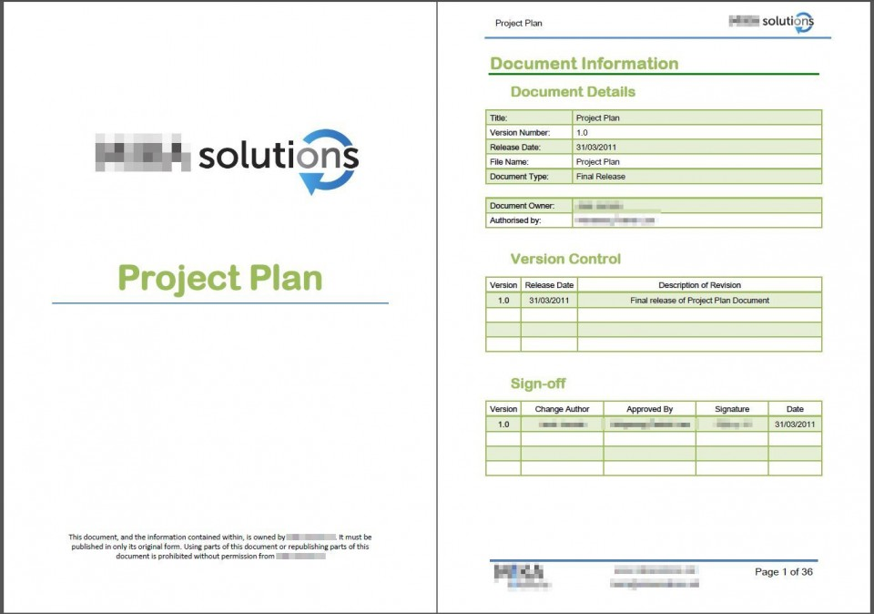 001 Phenomenal Microsoft Word Project Plan Template Highest Quality  Simple Management960
