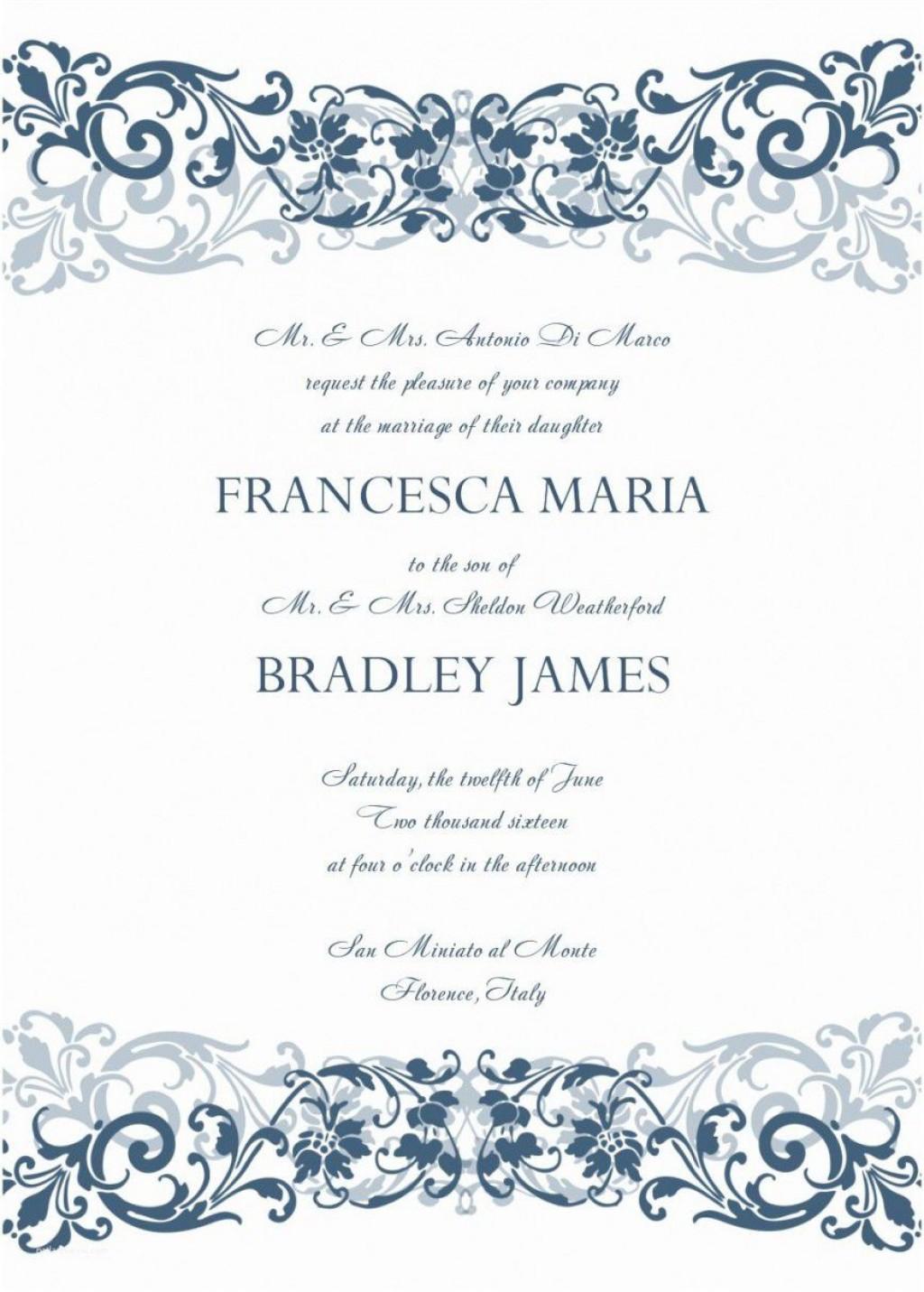 001 Phenomenal M Word Invitation Template Photo  Microsoft Card Wedding Free Download EditableLarge