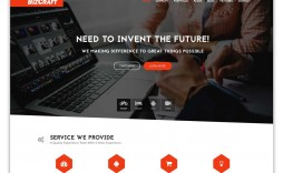 001 Phenomenal Simple Html Responsive Website Template Free Download Concept  With Cs Bootstrap