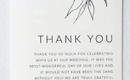 001 Phenomenal Thank You Note Format Wedding High Resolution  Example Card Wording Not Attending Sample For Gift