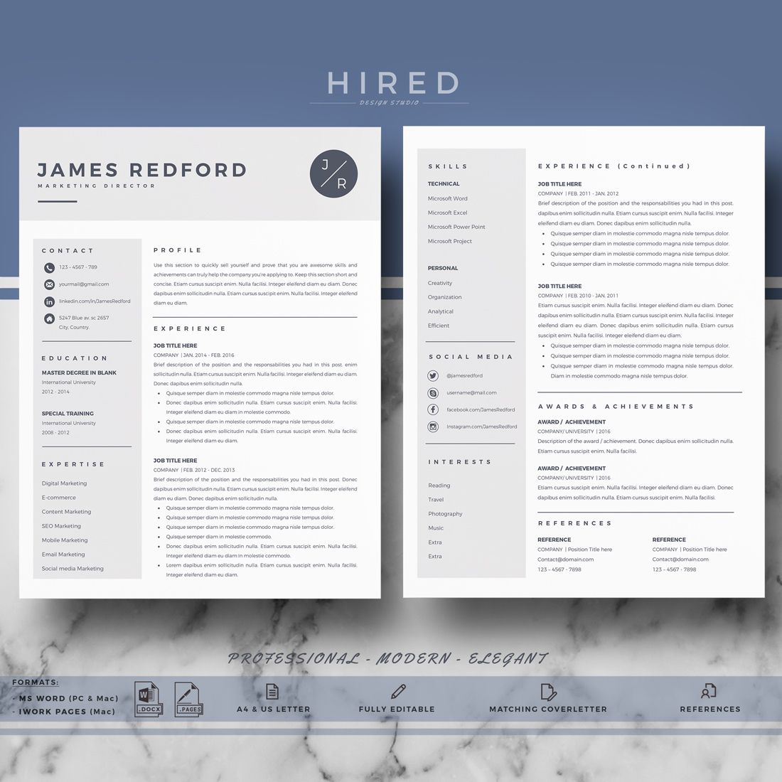 001 Phenomenal Word Resume Template Mac Design  2008 Microsoft 2011Full