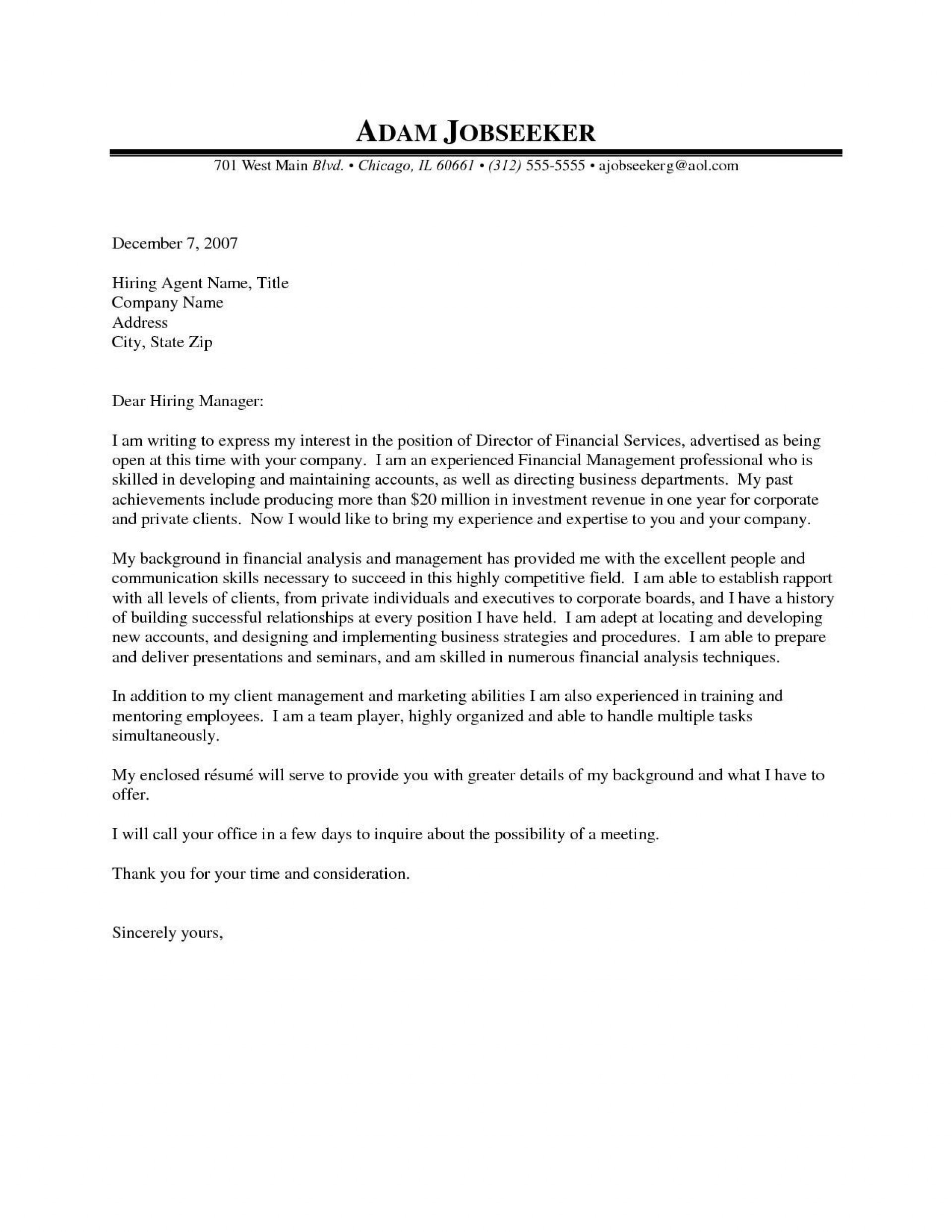 001 Rare Cover Letter Sample Template For Fresh Graduate In Marketing Highest Clarity 1920