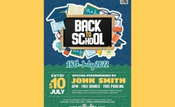 001 Rare Free Back To School Flyer Template Psd High Def