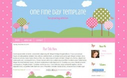 001 Rare Free Cute Blogger Template Highest Quality  Templates