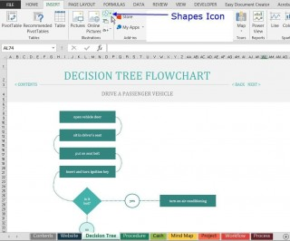001 Rare Free Decision Tree Template In Word Or Excel High Def 320